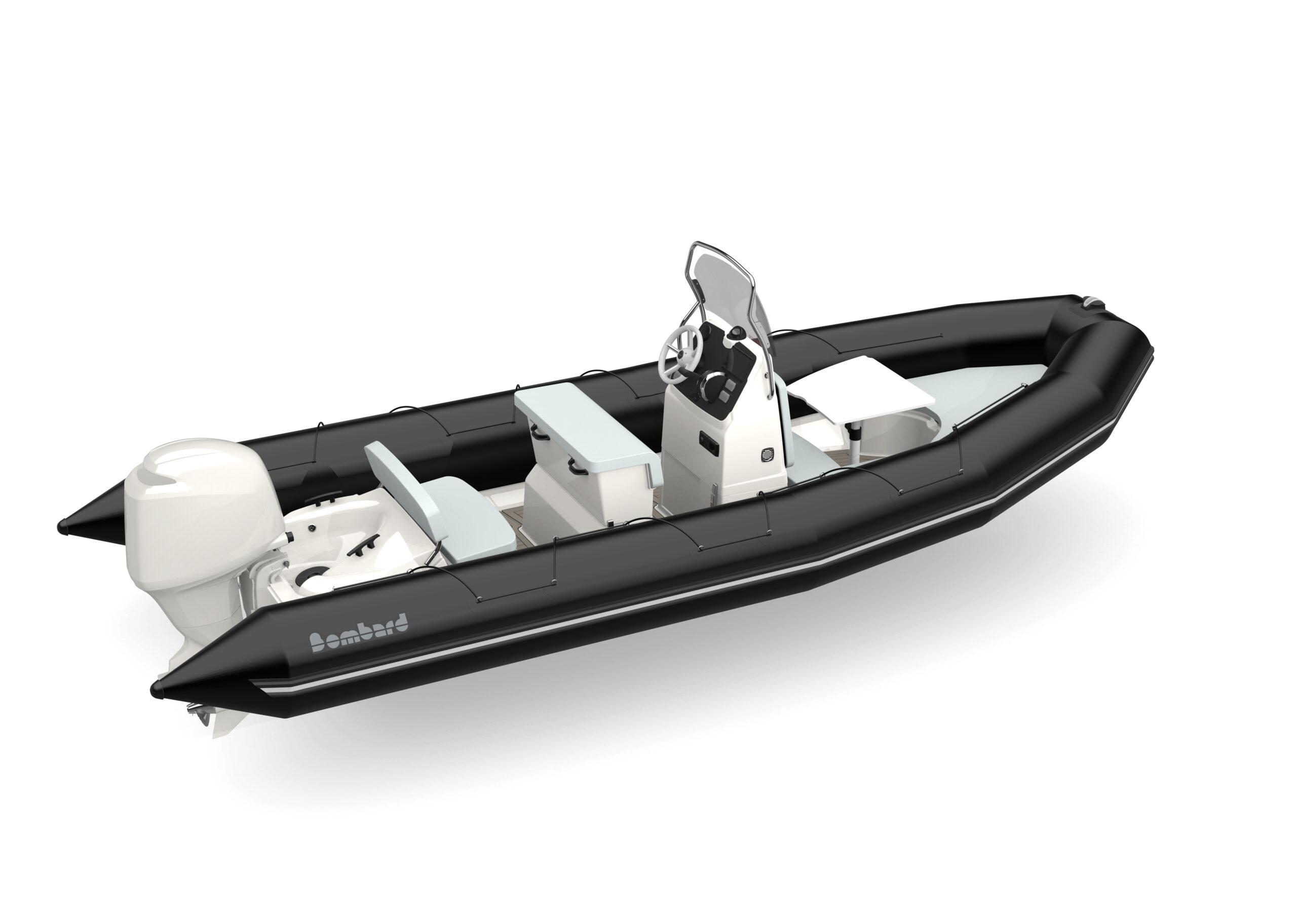 Bombard Sunrider 650 Black P1 light grey acc